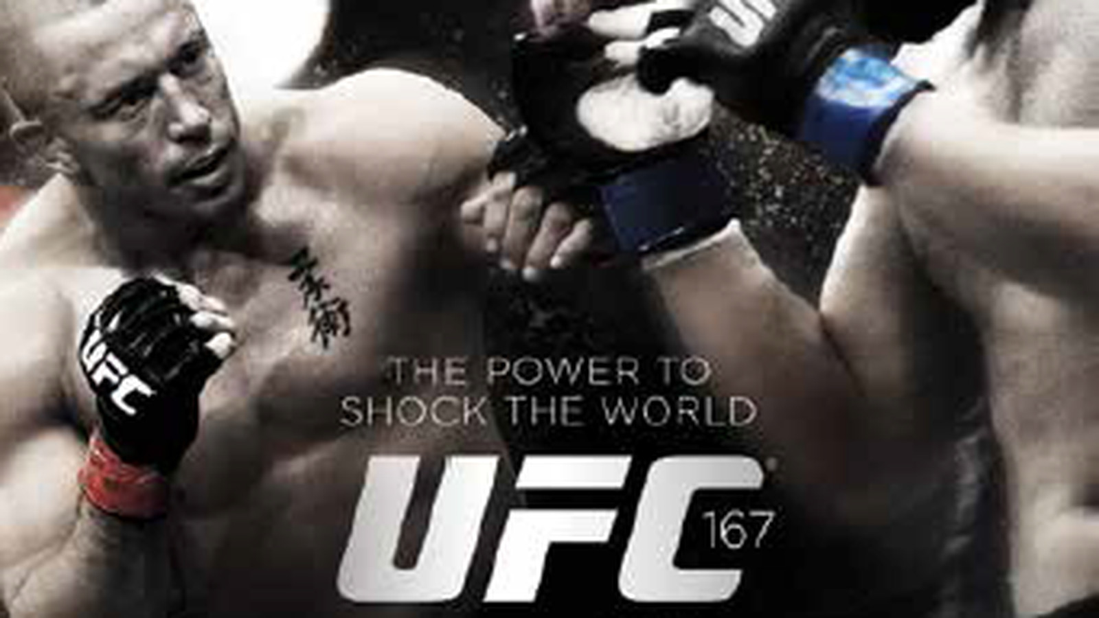 Ufc 168 Fight Poster UFC 167 full poster pi...