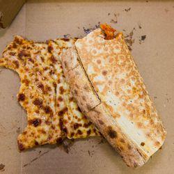Jumbo Slice at Pizza Mart