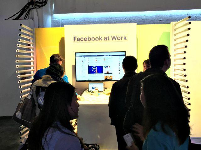 Resultado de imagen para facebook at work f8
