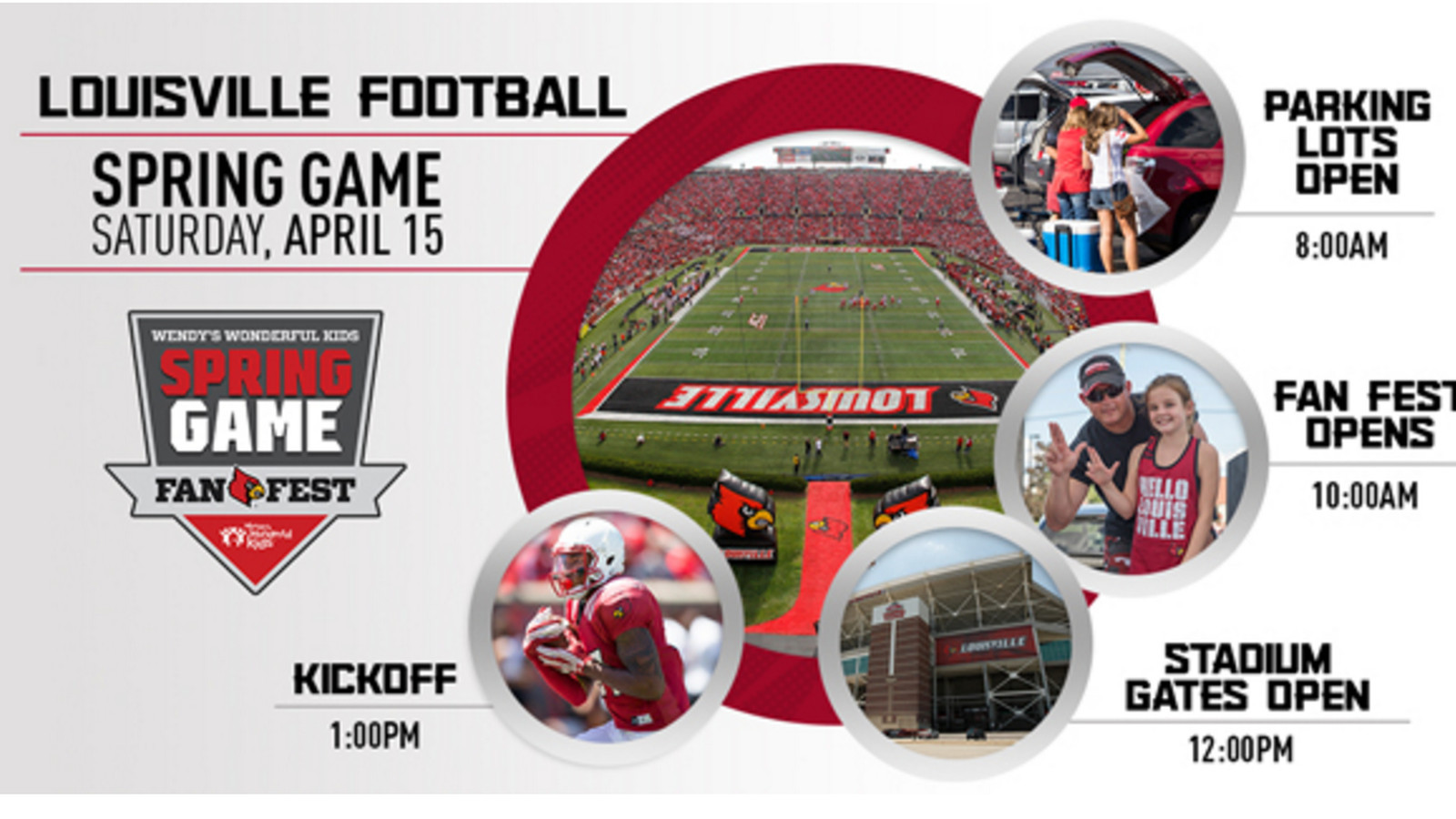 2017 Louisville Football Spring Game Schedule Of Events ...