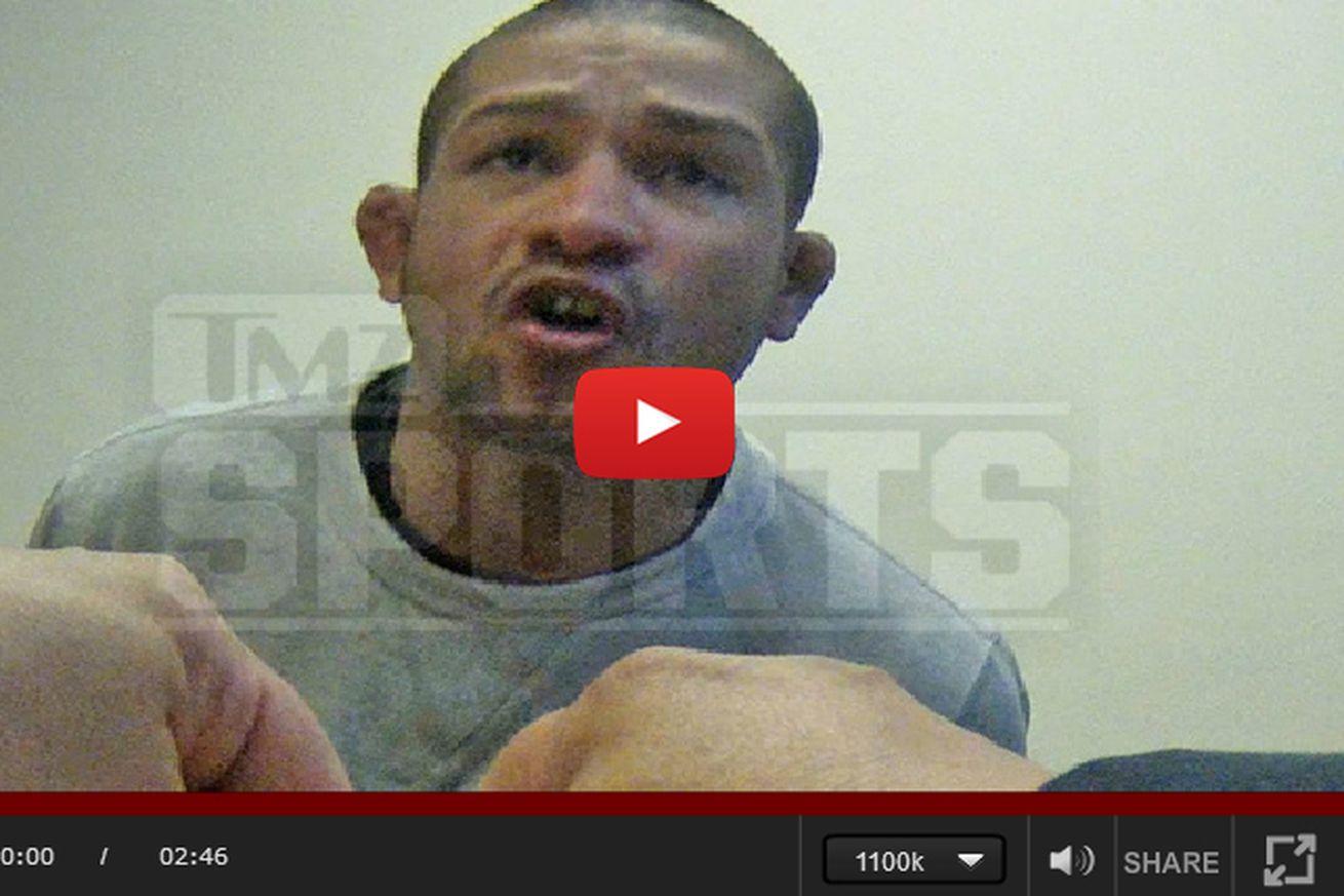 Video: UFC vet Diego Brandao confesses to bringing gun to nightclub fracas