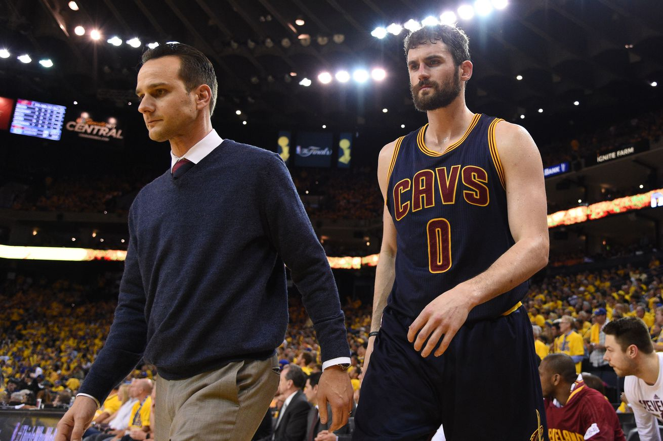Nike jerseys for wholesale - Kevin Love leaves game with dizziness, is diagnosed with ...