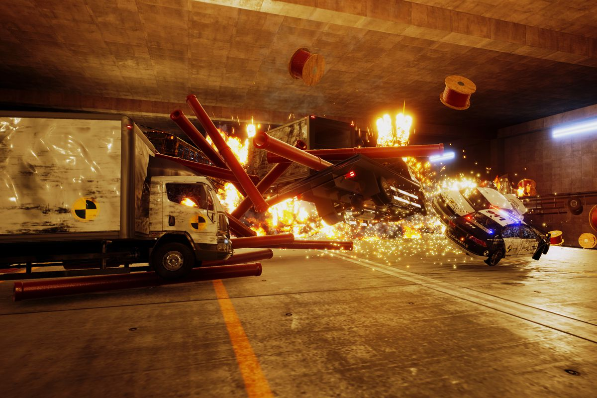 Danger Zone is Burnout's 'crash mode' turned into an entire game