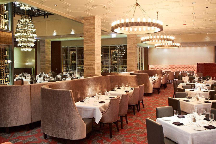 Look inside del frisco 39 s double eagle steak house opening for Del frisco s chicago