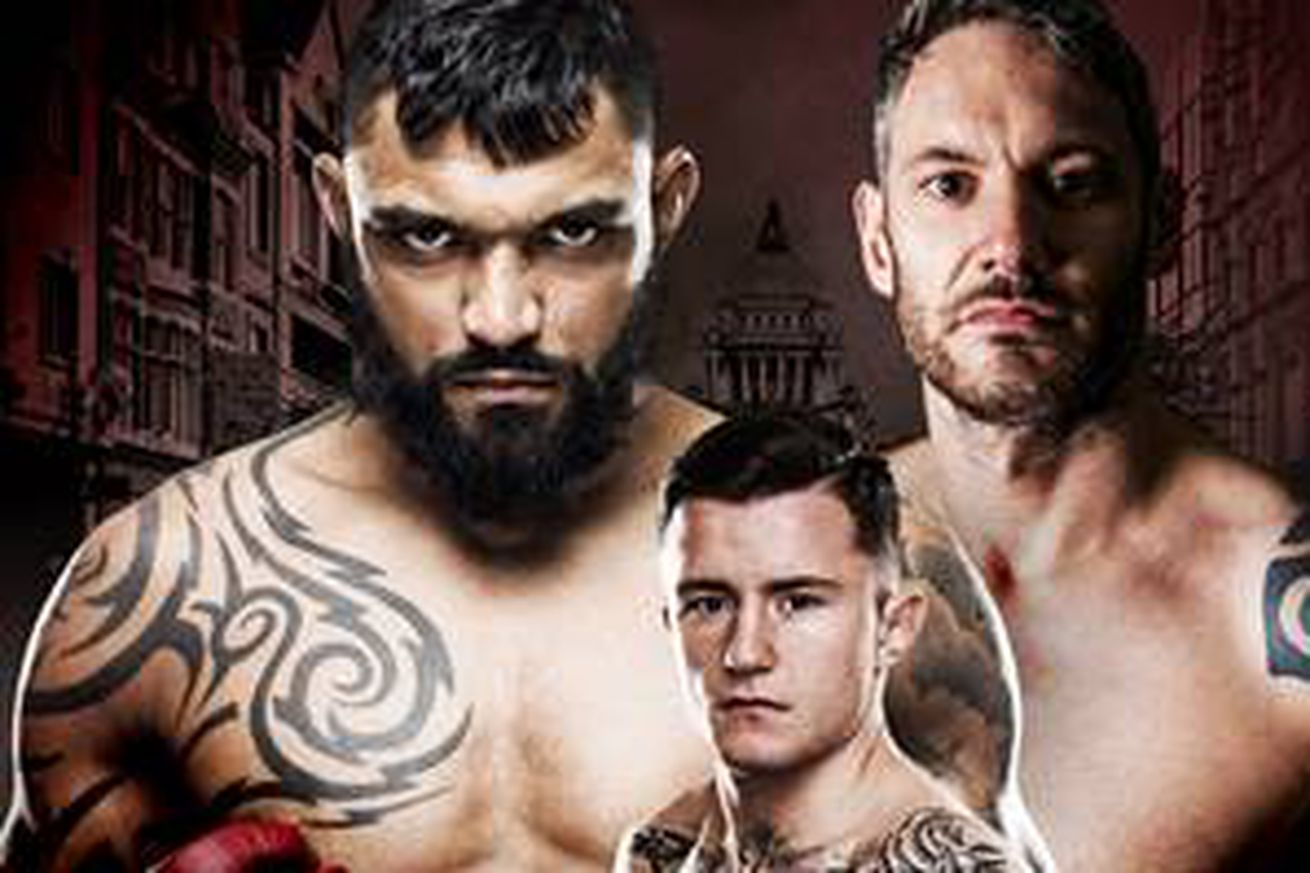 Liam McGeary vs Chris Fields to headline Bellator 173 in Belfast