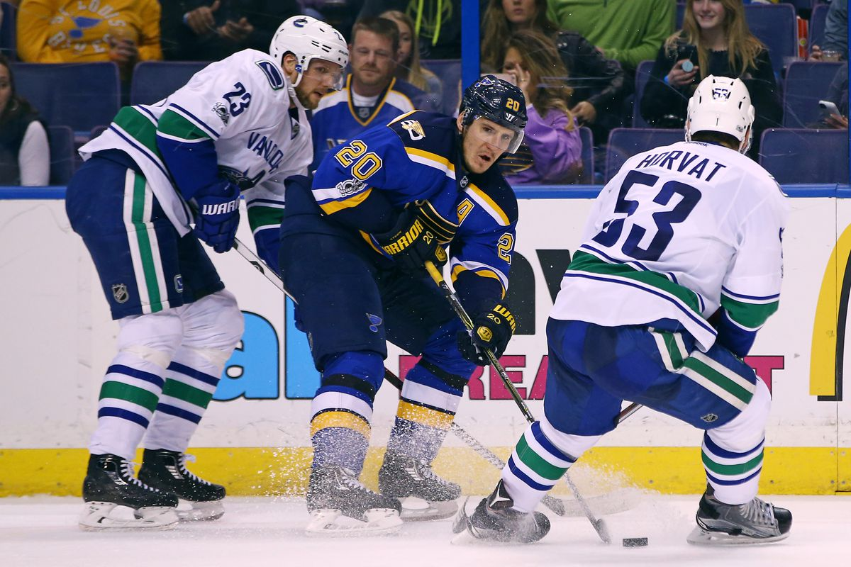 Canucks at Blues preview: No Stastny? No Lehtera? No problem?
