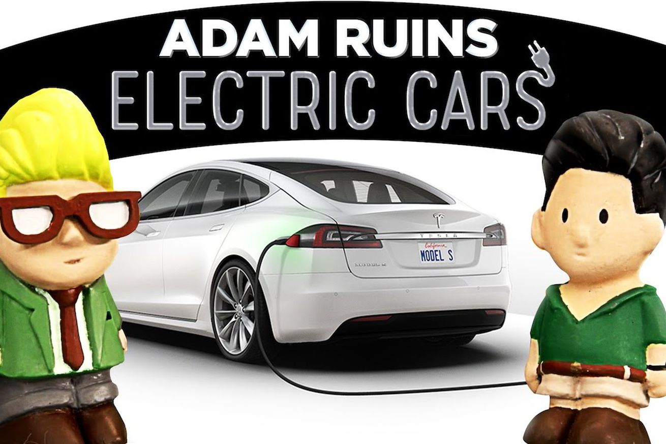 The Adam Ruins Everything takedown of electric cars is wrong because it's built on lazy research
