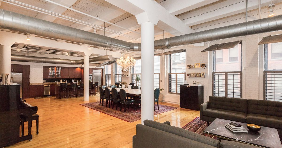 Brick And Beam Leather District Loft Features 14 Foot