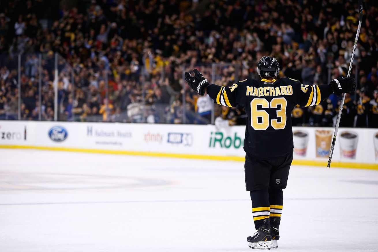 marchand singles Brad marchand scored his 33rd goal of the season in overtime as the bruins edged the wild 2-1 highlight: athletics' olson hits walk-off single in 14th inning.