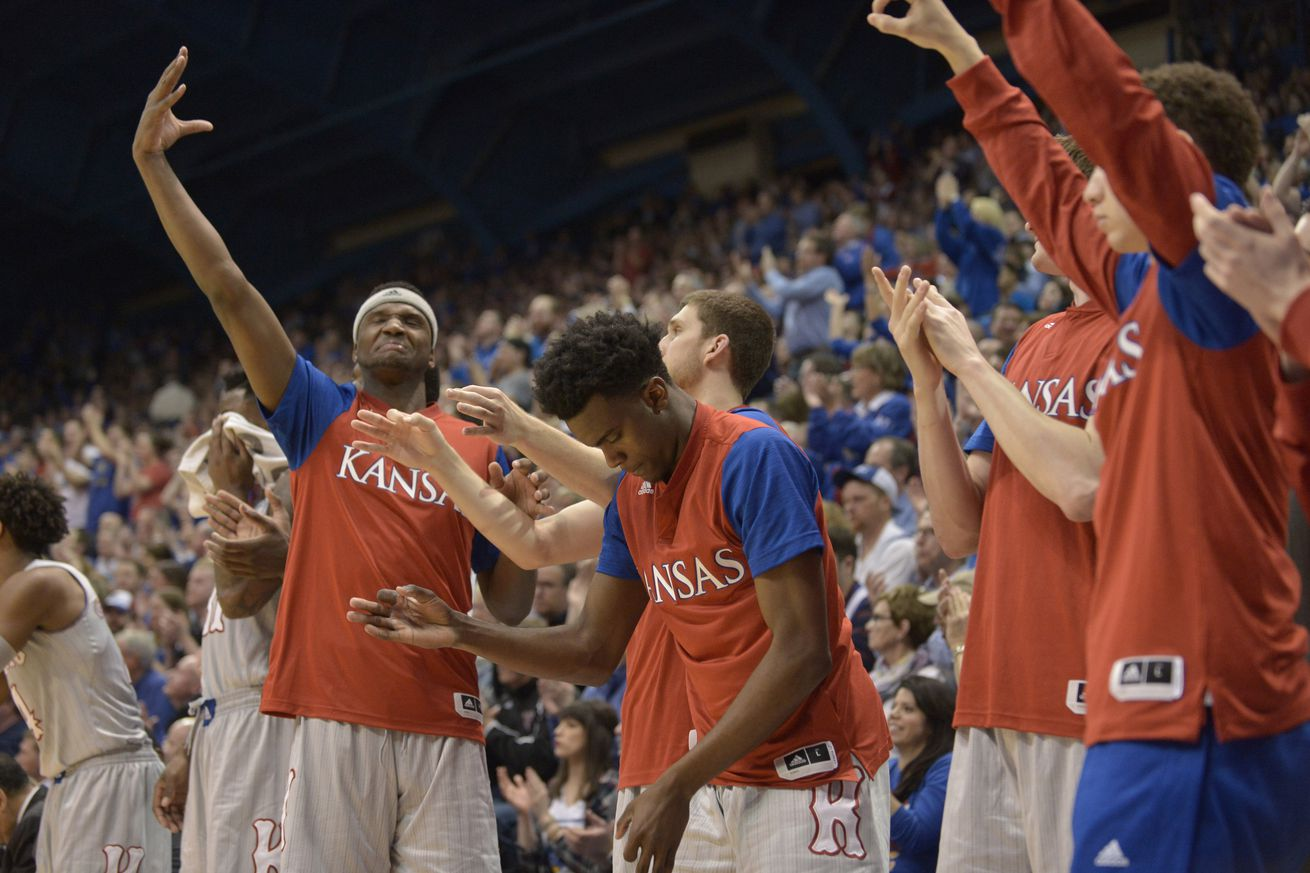 No. 2 Kansas blows lead, escapes K-State with 72-63 win