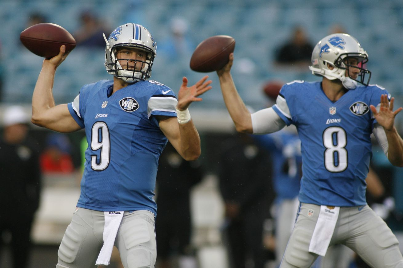 NFL Jerseys Outlet - 2015 Detroit Lions roster review: Quarterbacks - Pride Of Detroit