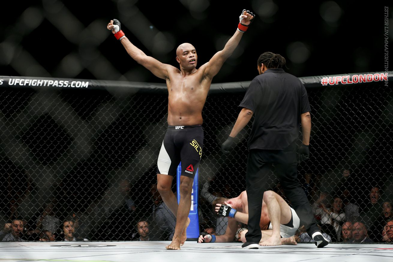 community news, Anderson Silva vs. Uriah Hall targeted for UFC 198
