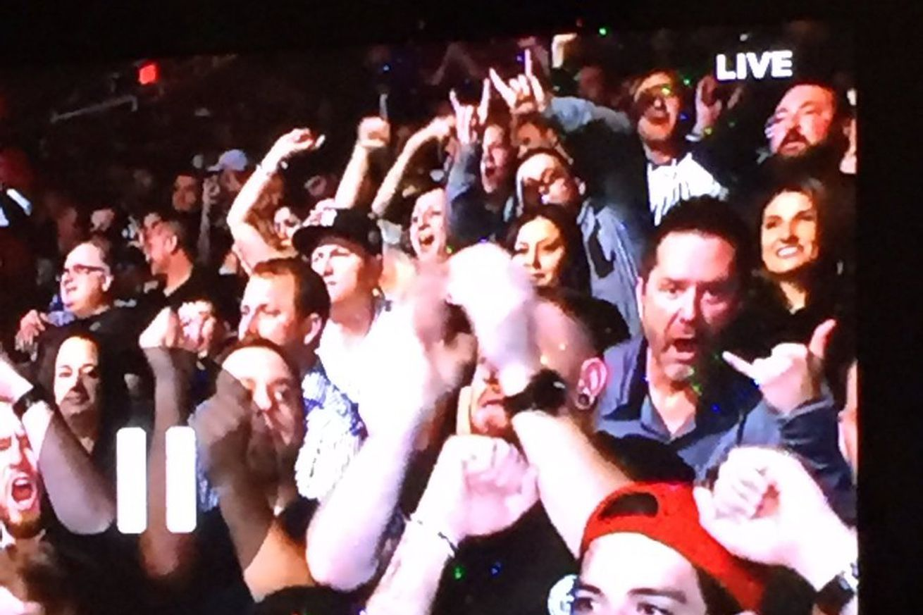 Mike Goldberg explains how he ended up in UFC Phoenix crowd for one last on air cameo