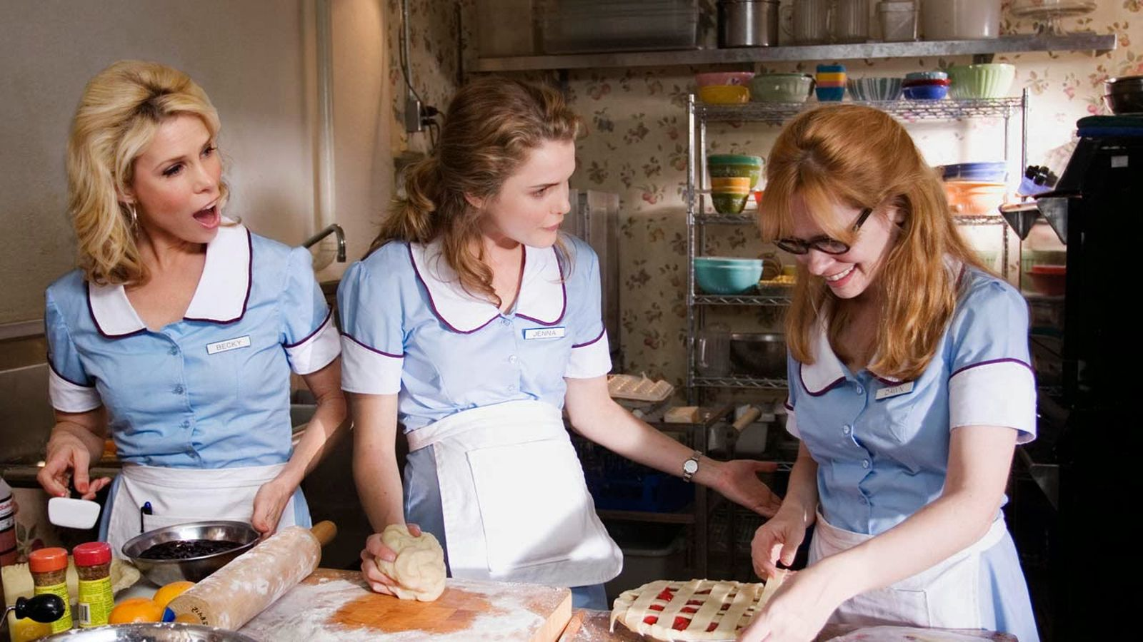 How Diner Waitress Uniforms Have Evolved From Scandalous Bloomers To Gingham Dresses