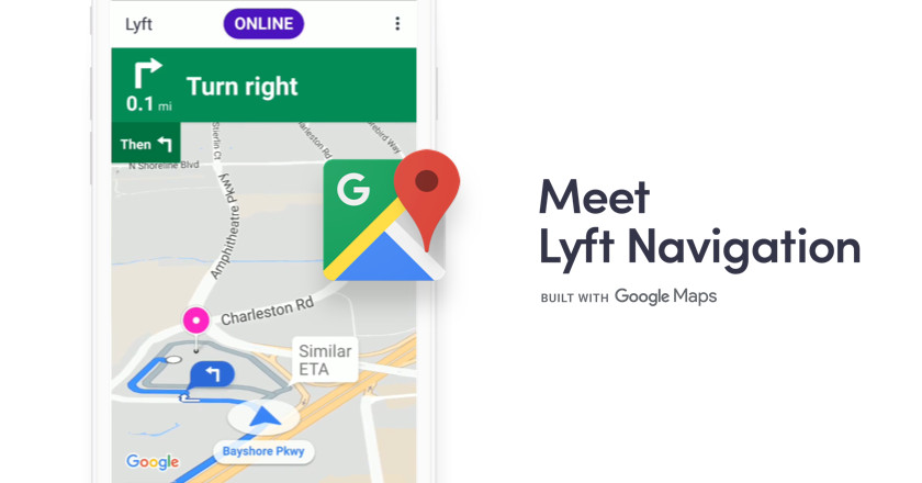 photo image Lyft says it will use Google Maps as its default navigation tool for drivers