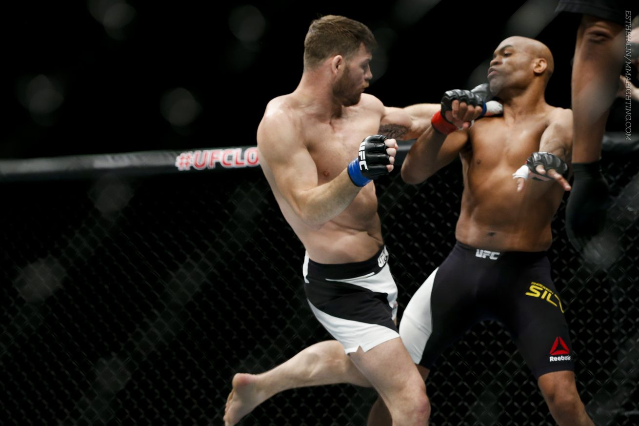 community news, Michael Bisping says he made a rookie mistake during mouthpiece controversy