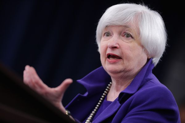 Janet Yellen gently cups a fledgling interest rate.