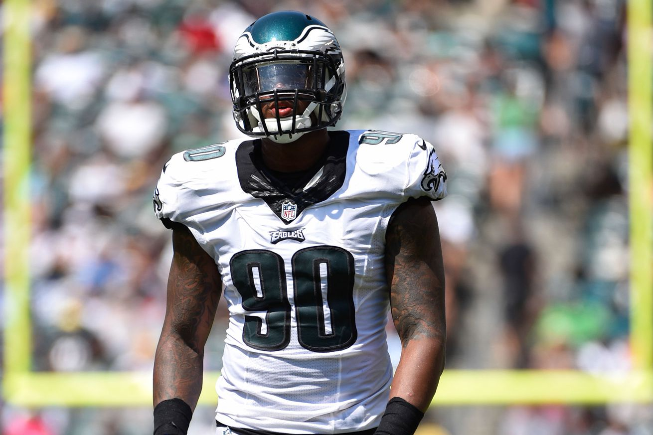 Jerseys NFL Cheap - Eagles Snap Counts: Marcus Smith played a lot and actually got a ...