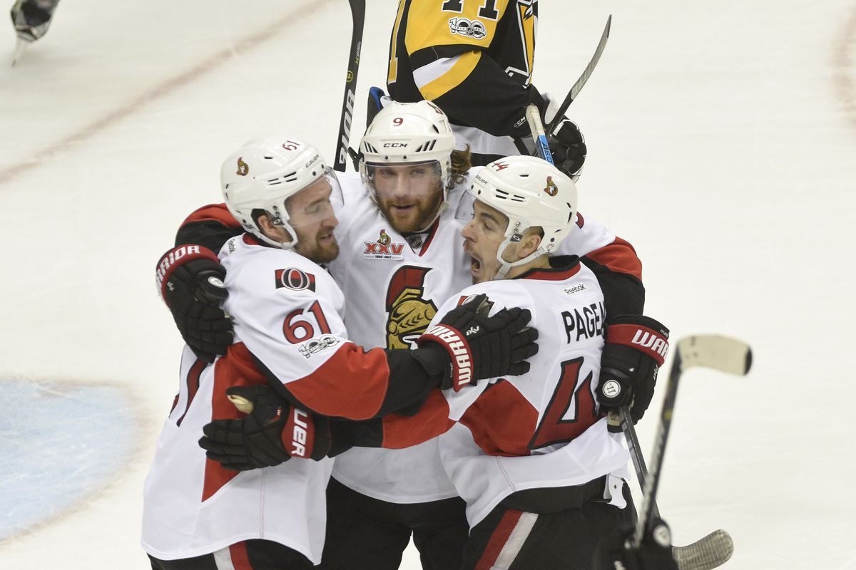 Monday's Stanley Cup Playoffs betting preview: Senators at Penguins