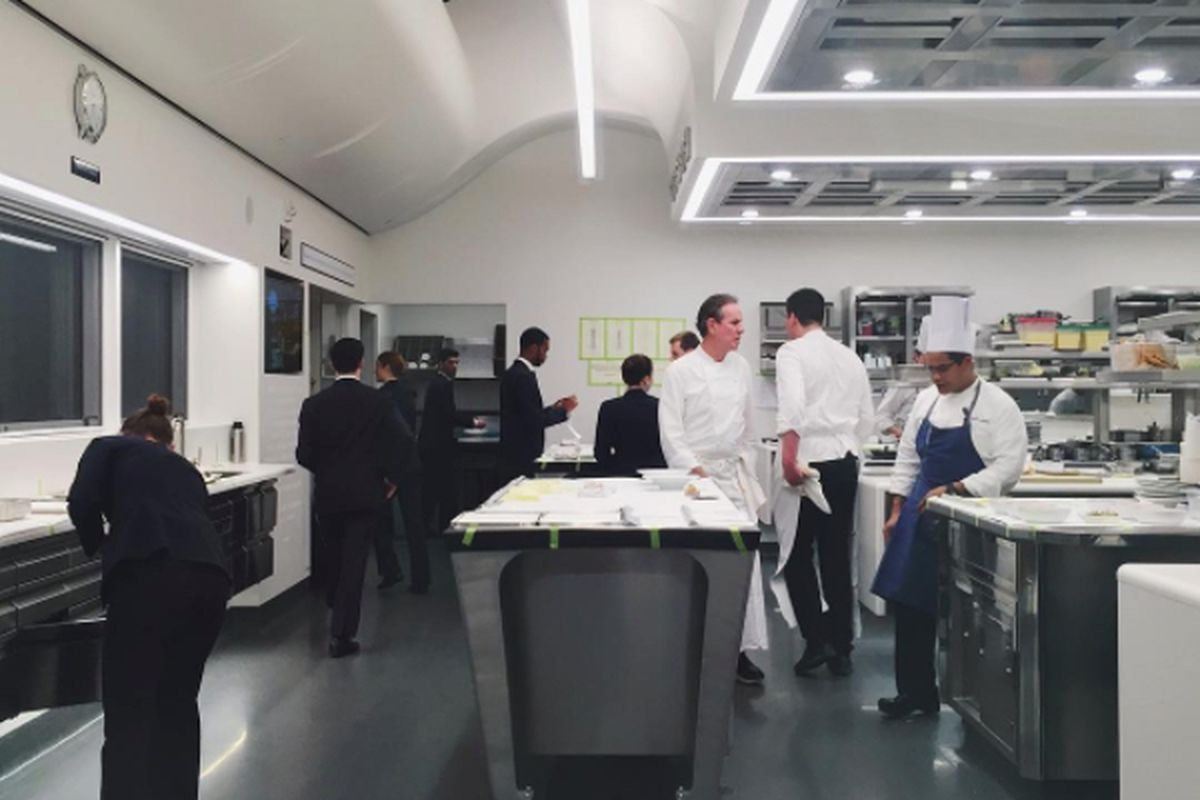 For A New Kitchen The French Laundrys Pricey New Kitchen Is Now Open For Business