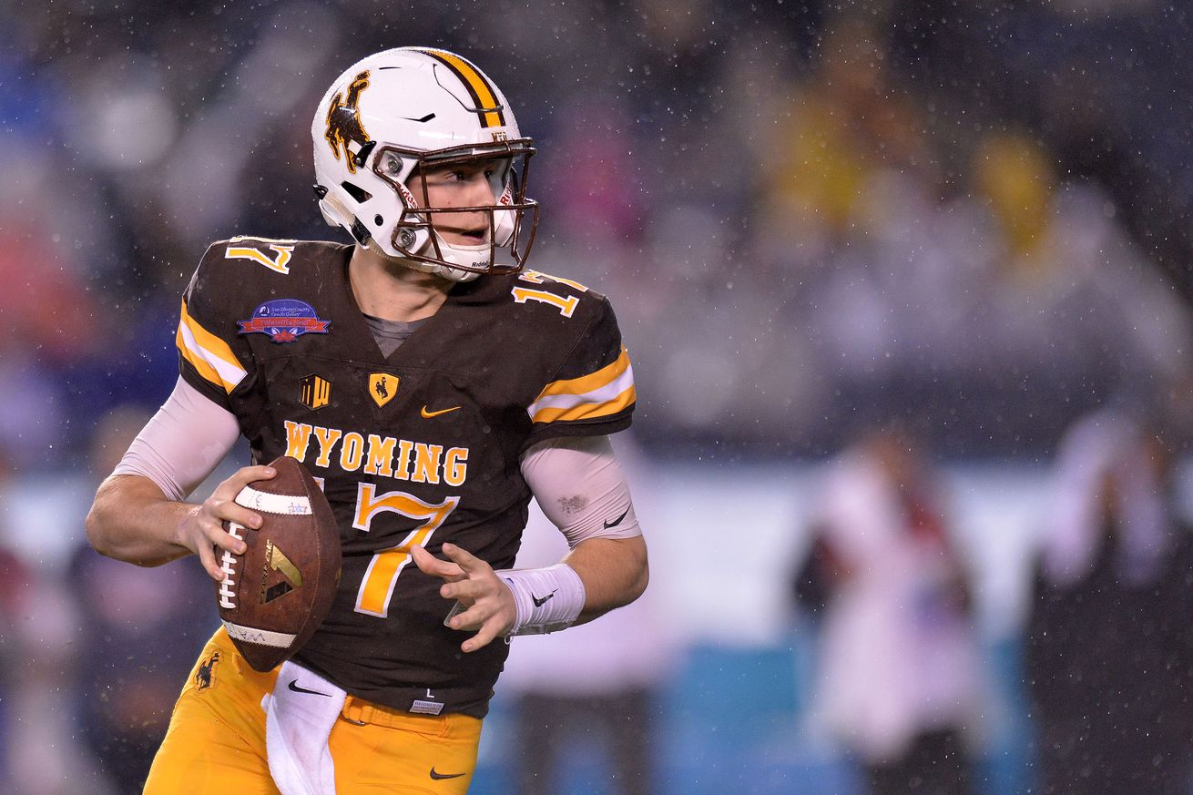 The 2018 quarterback class is getting hype, for now