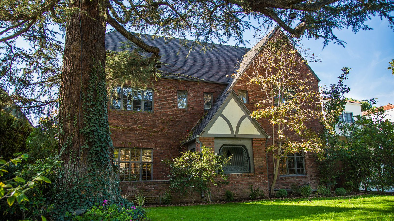 1925 English Tudor Style Mansion In Windsor Square Is A