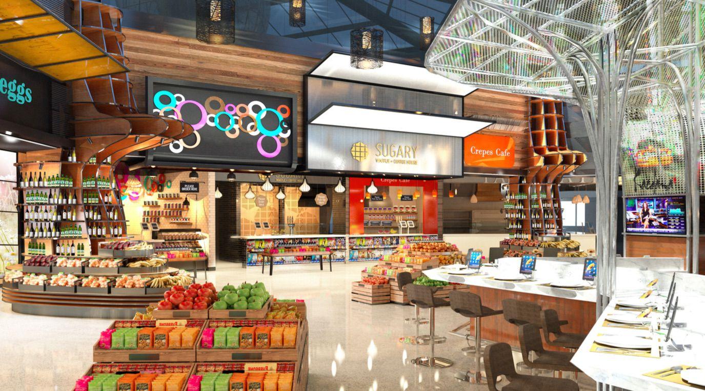 Newark Terminal C Best Food