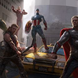 Ryan Meinerding / Keyframe for Marvel's The Avengers 2012 / © 2017 MARVEL<br><br><br><br>