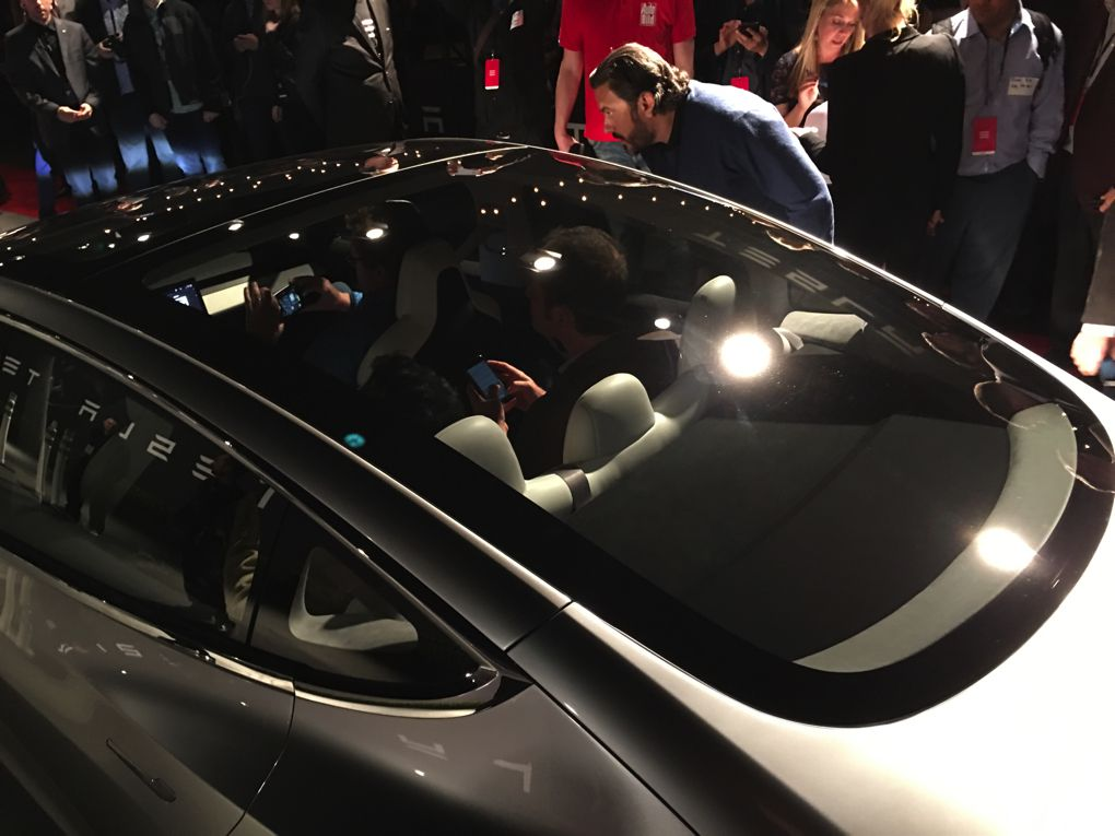 The 35 000 Tesla Model 3 In Pictures The Verge