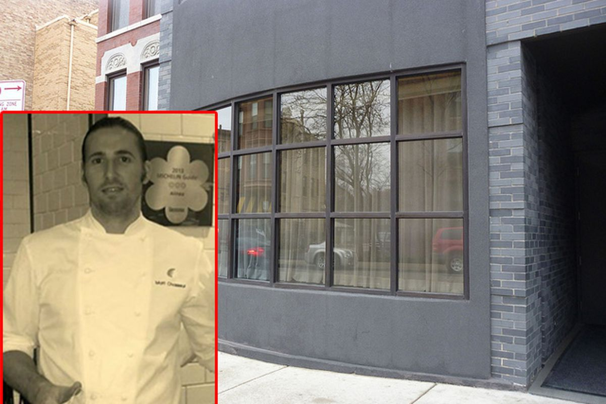 Matthew chasseur out at alinea mike bagale in eater for Alinea chef de cuisine