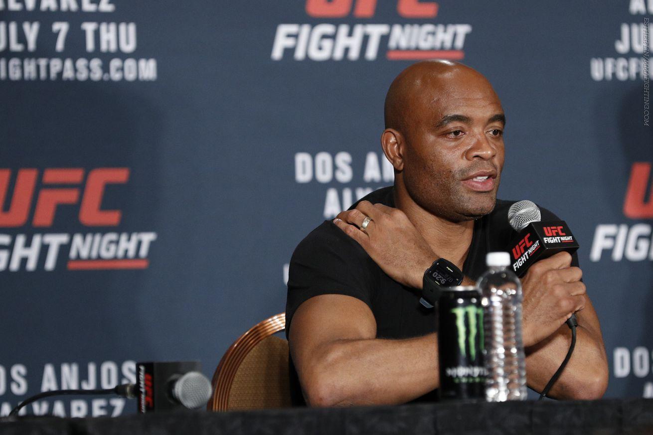 Anderson Silva: I hope Jon Jones isn't mad I took his UFC 200 spot