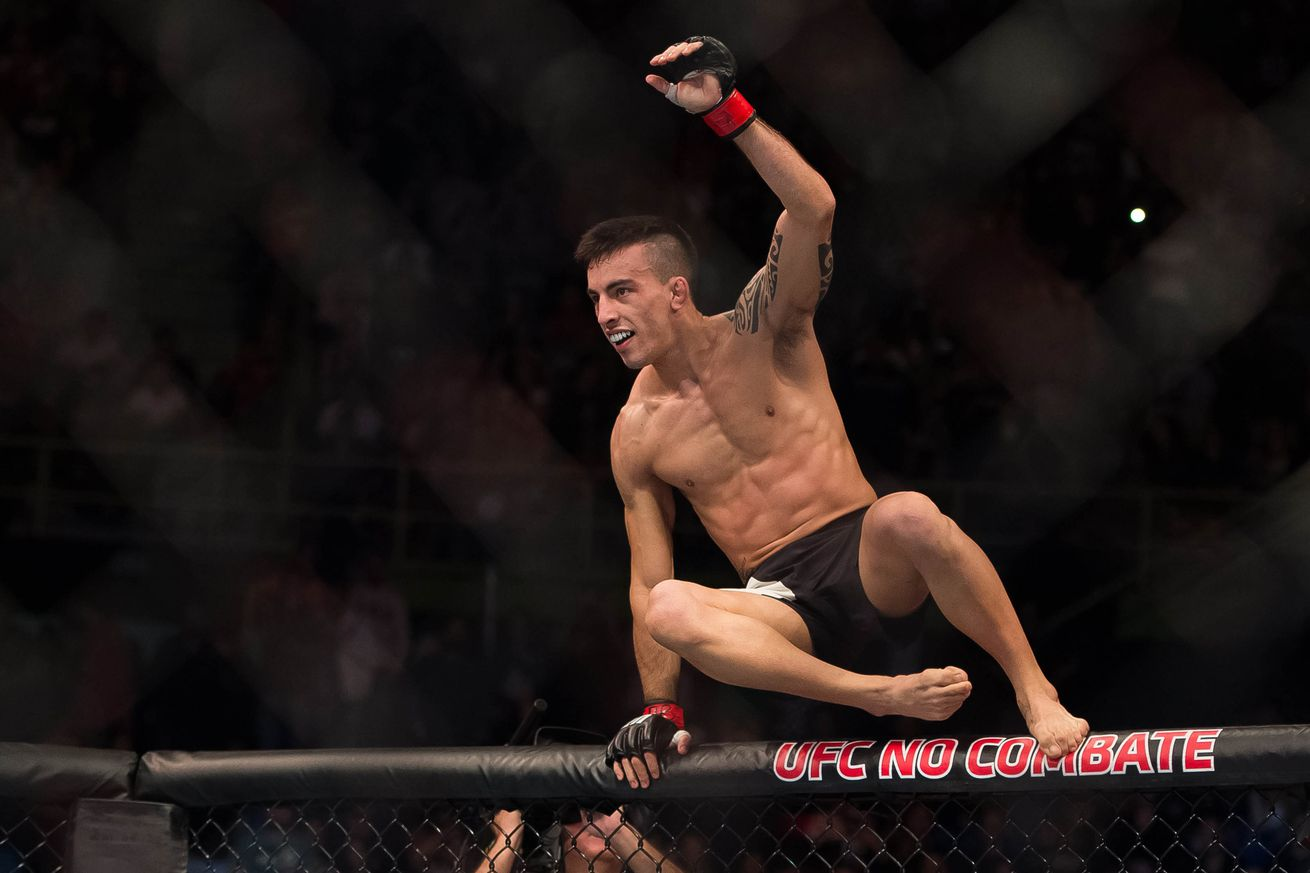 community news, UFC Fight Night 88s Cody Garbrandt: Thomas Almeida padded his record by beating cab drivers