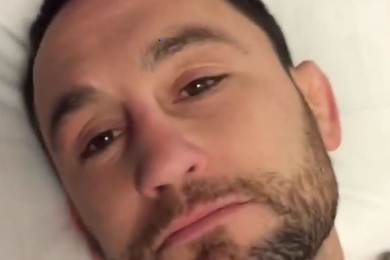 Frankie Edgar releases hilarious video after his groin surgery
