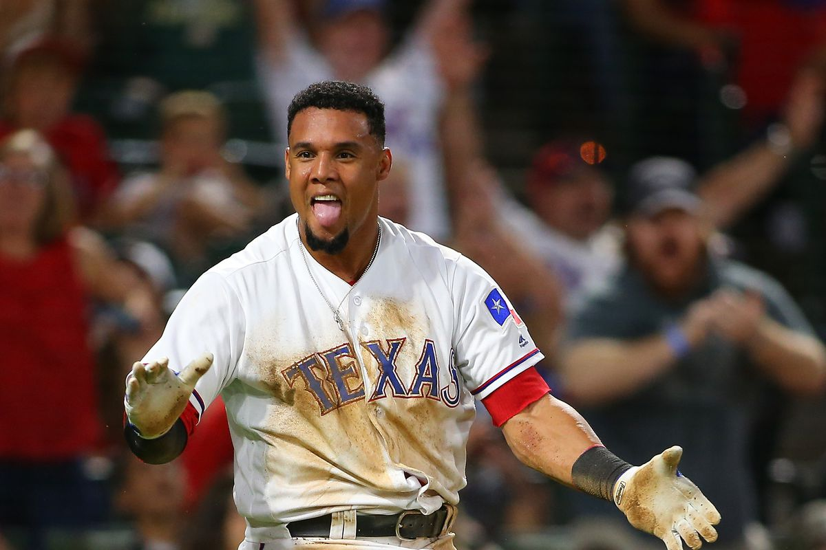 Rangers CF Gomez headed to DL with right hamstring strain