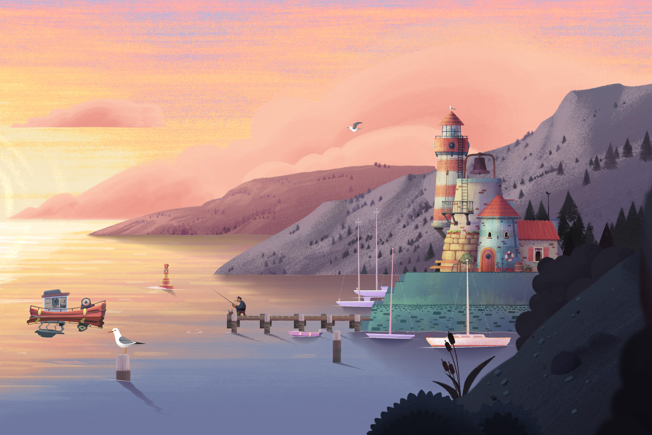 Old Man's Journey is a brief, poignant adventure through a beautiful landscape