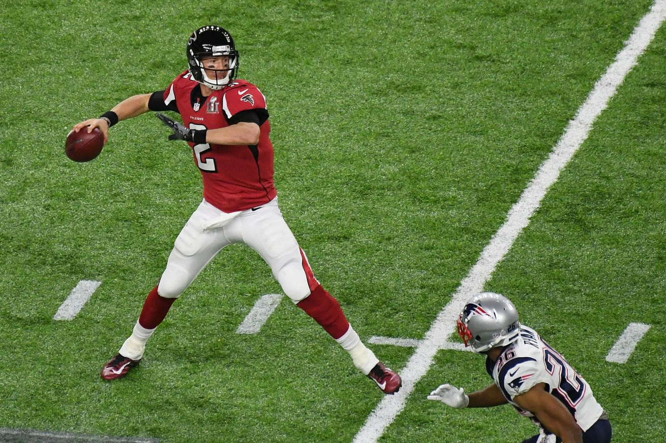 What does history say about Matt Ryan winning back-to-back MVP awards?
