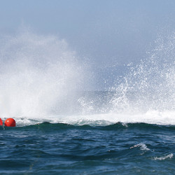 Pieter Folkens worked to free this whale that had become entangled on spot prawn traps.