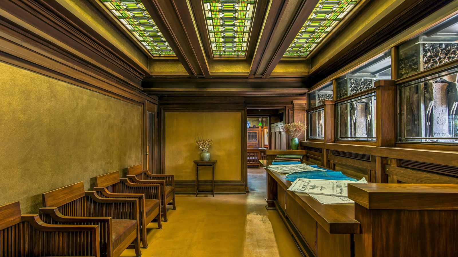 Frank lloyd wright furniture designer curbed - Frank lloyd wright architecture ...