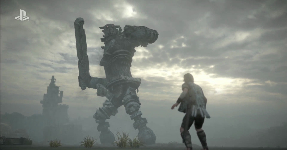Shadow of the Colossus PS4 remake gets a new trailer at Tokyo Game Show