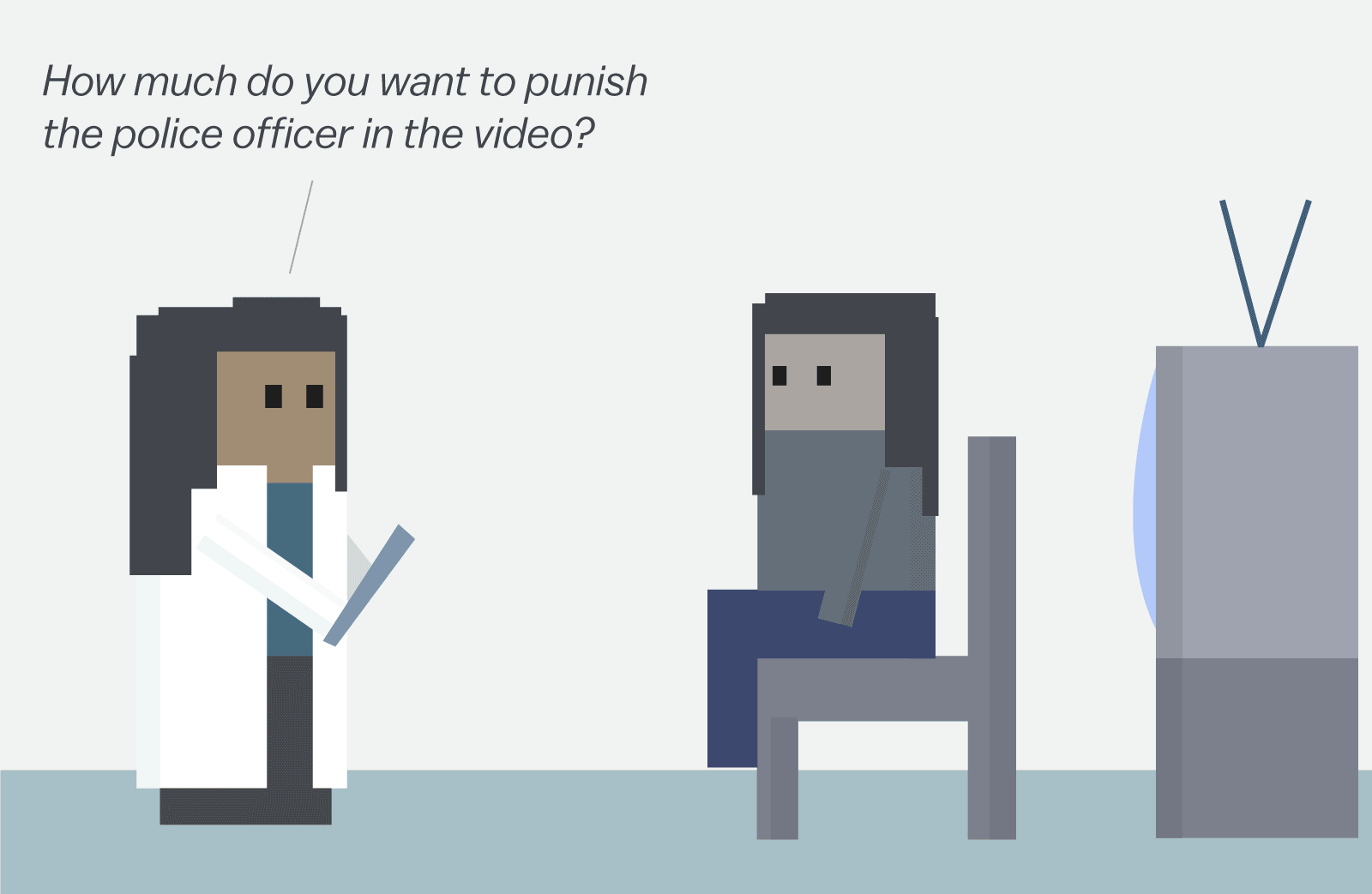 we can t fix policing out talking about race this cartoon afterward the participants were asked various questions including whether or not they wanted to punish the police officers in the video