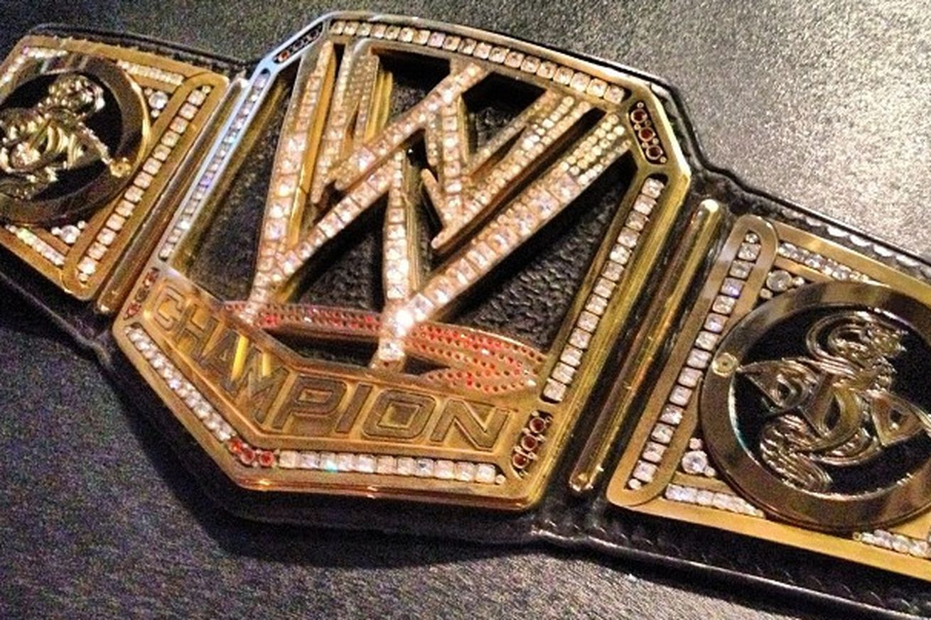 Pic Randy Orton S Custom Wwe Championship Title With Rko