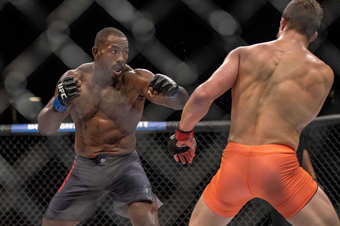 Khalil Rountree Jr. vs. Daniel Jolly added to UFC Fight Night 104
