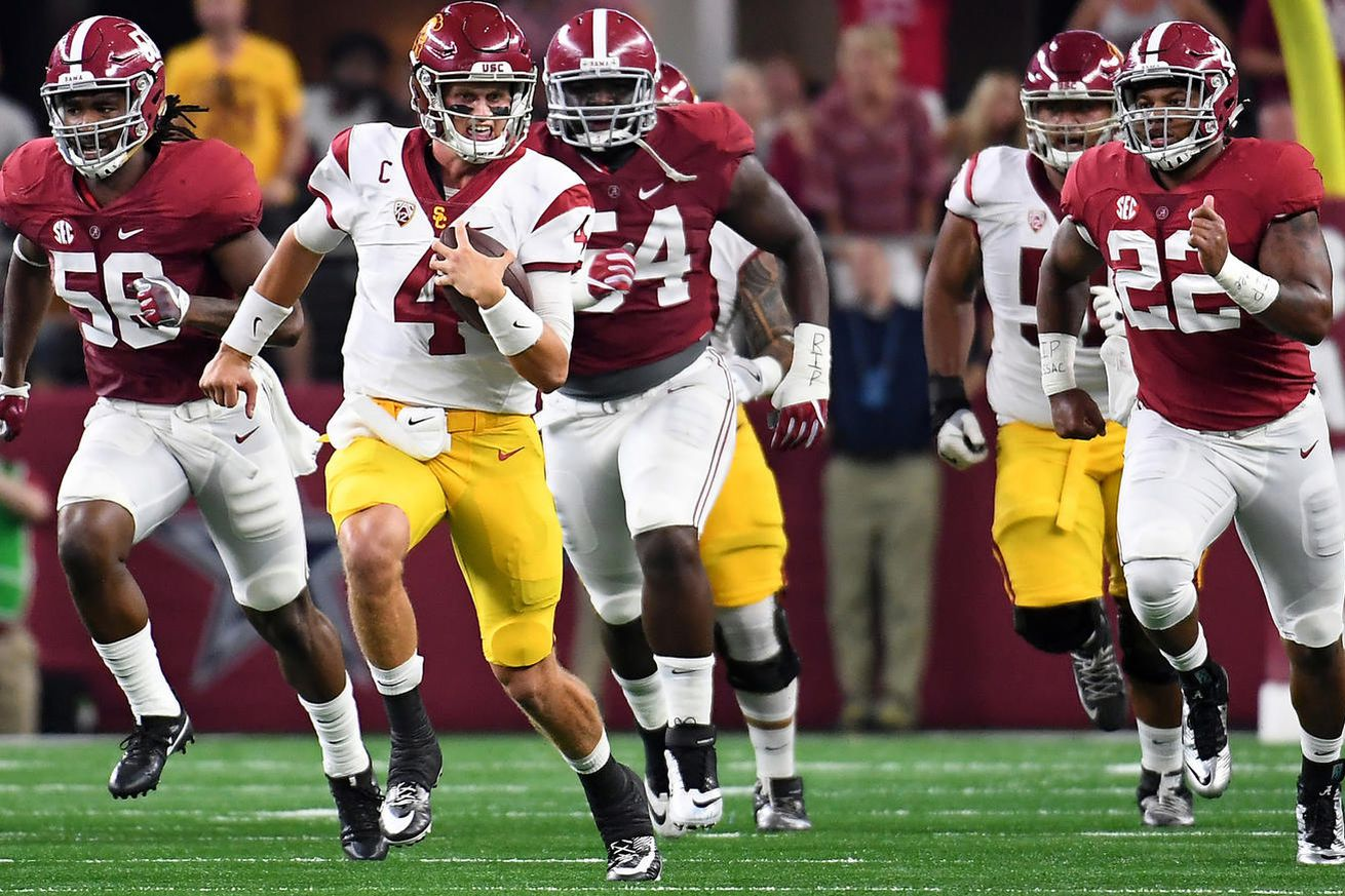 USC's Ruffin suspended for a half after crotch stomp vs Tide