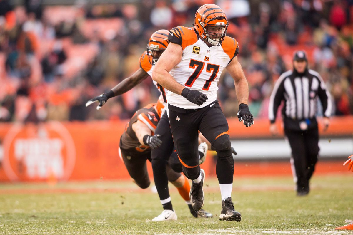 Rams to Sign Former Bengals LT Andrew Whitworth