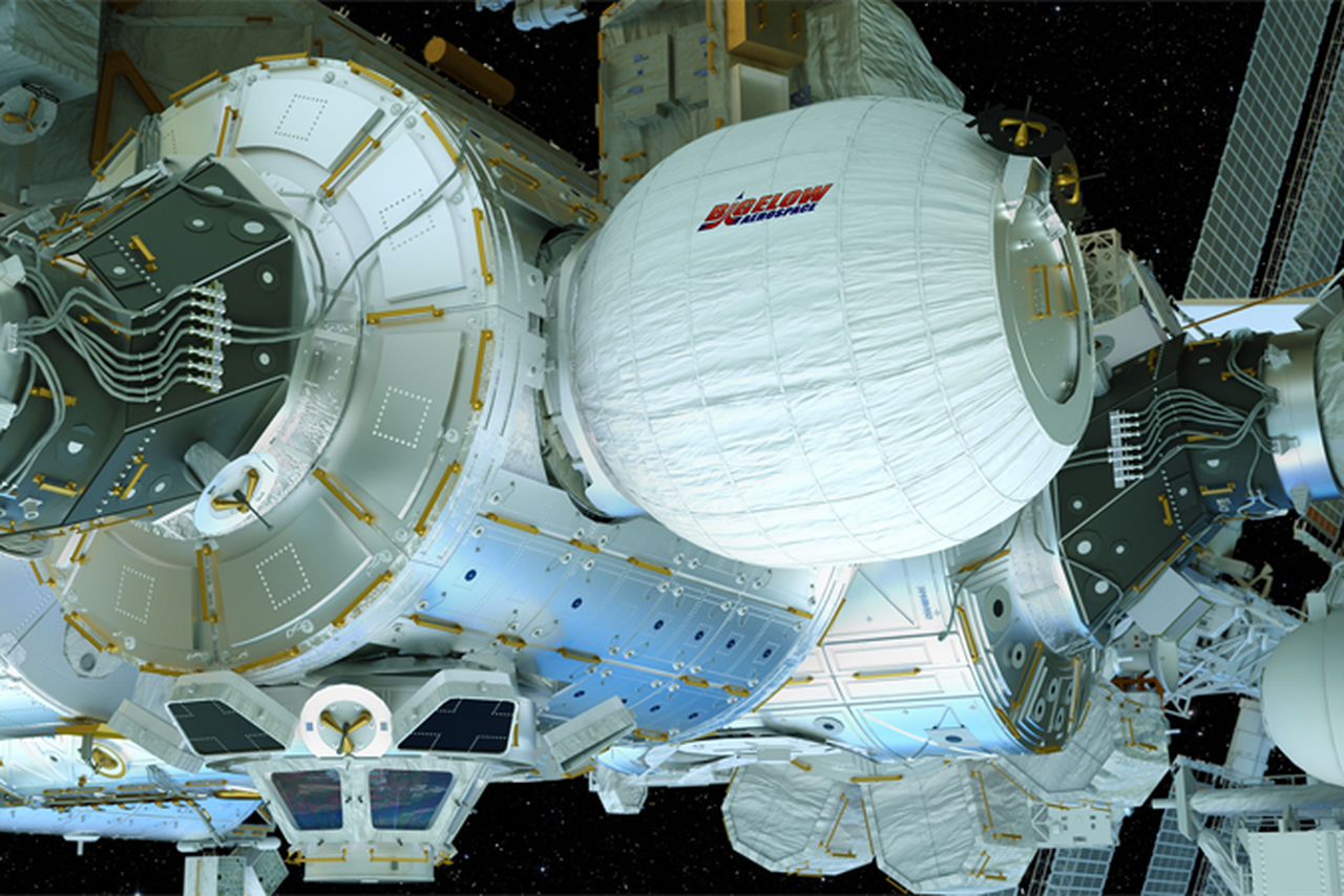 Watch NASA's second attempt at inflating the first ...