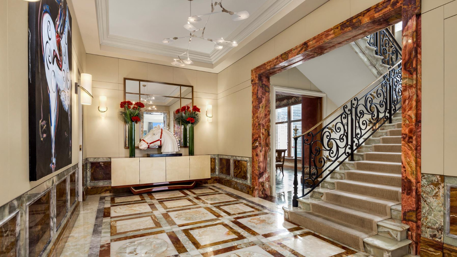 Socialite s park avenue duplex with all the high end for Nyc duplex for sale