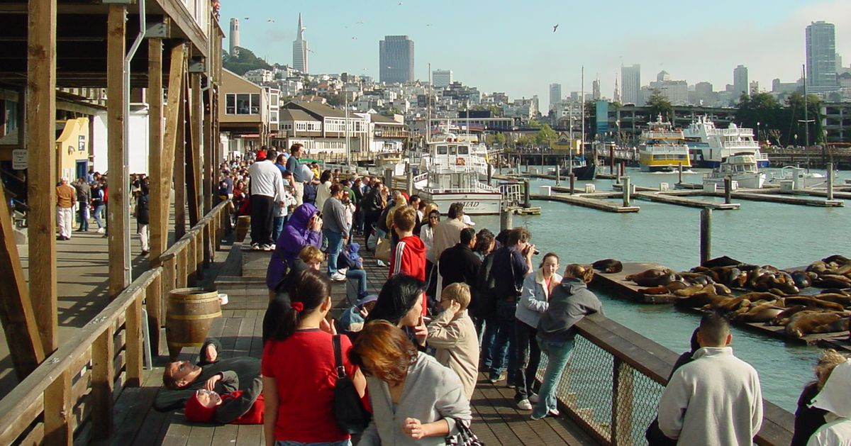 39 Facts About Pier 39 For Its 39th Birthday Curbed Sf
