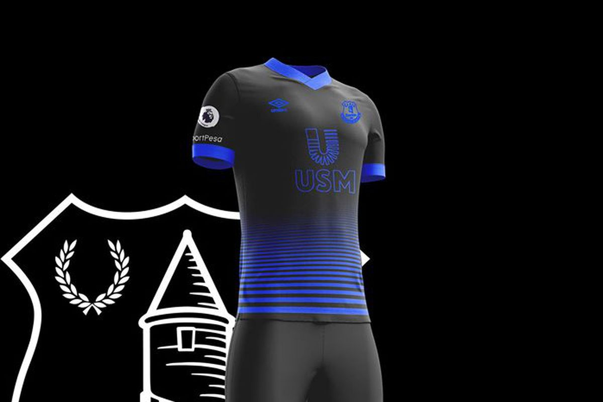 Choose your favourite Everton away kit design - Royal Blue ...