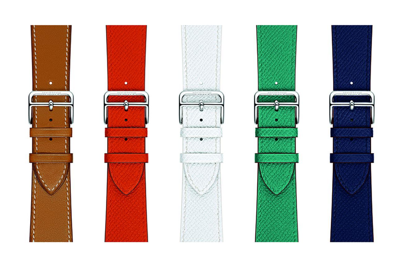 how to change the color of a watch strap