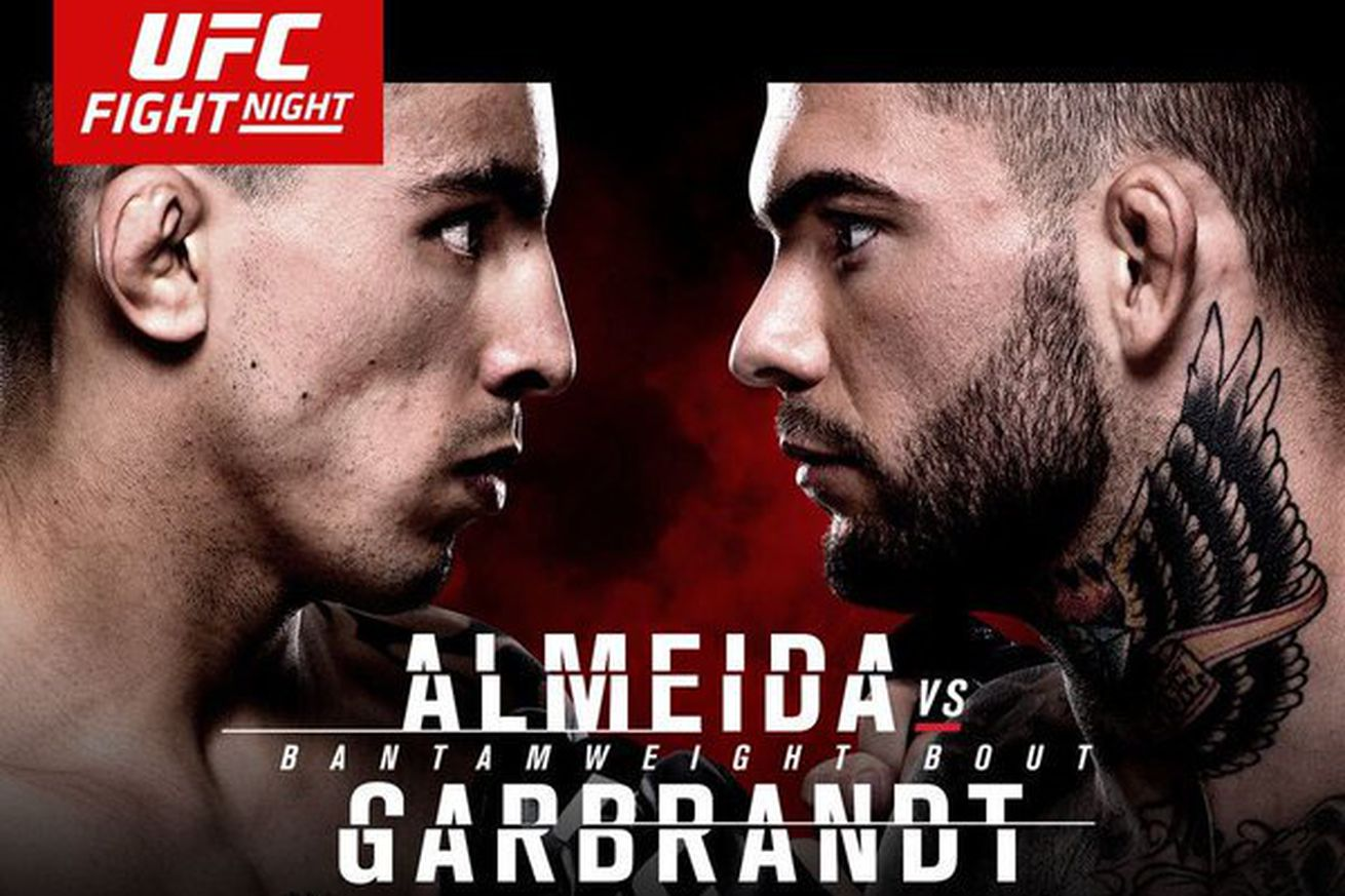 UFC Fight Night 88 results: Live streaming 'Almeida vs Garbrandt' play by play updates